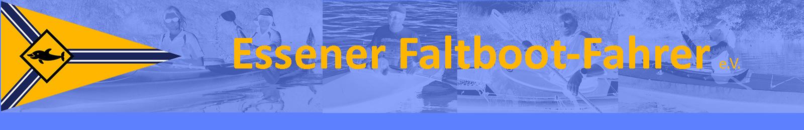 Essener Faltboot-Fahrer